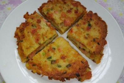 葱香土豆煎饼