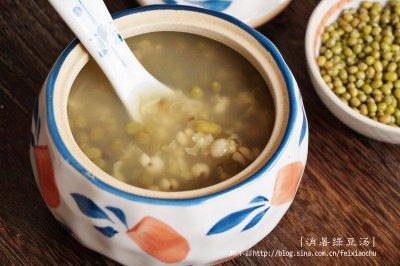 清热消暑利器:薏米绿豆汤