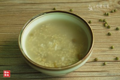养生绿豆粥