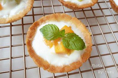 水果酸奶曲奇蛋挞
