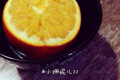 止咳化痰超有效:盐蒸橙子