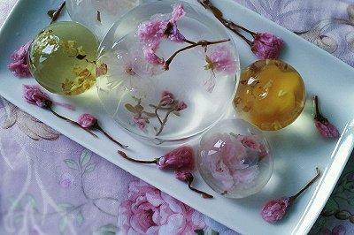 茶冻:水晶玄饼