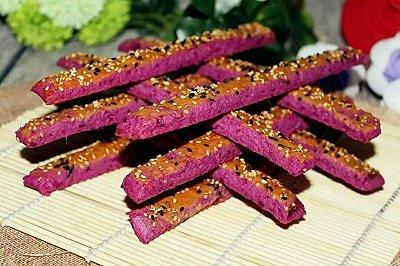 芝麻紫薯脆条