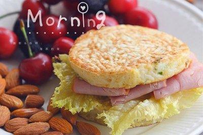 美味早餐饼