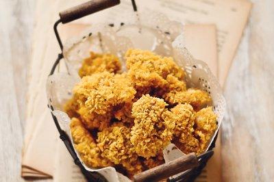 烤箱版鸡米花