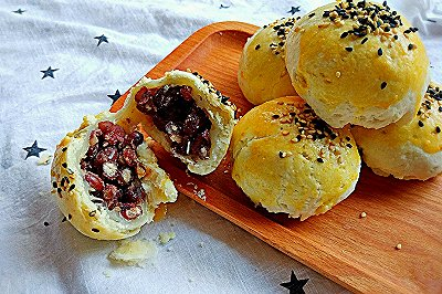 麻薯粒粒蜜红豆酥