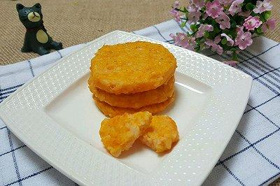 黄金三文鱼米饼