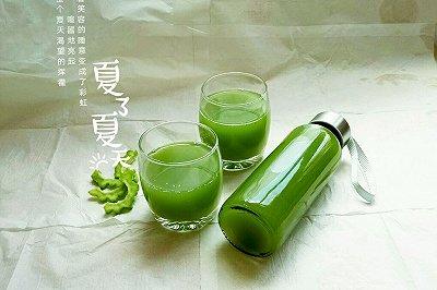 苦瓜黄瓜蜂蜜汁