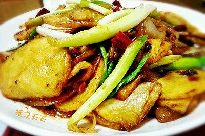家常土豆片