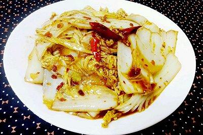 超级简单的酸辣白菜