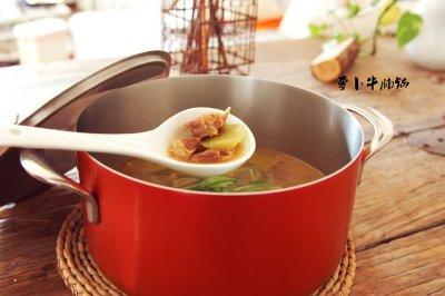 萝卜牛腩锅