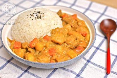日式咖喱鸡饭