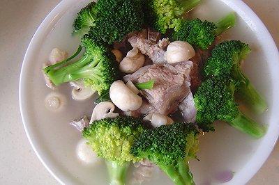 小排时蔬汤