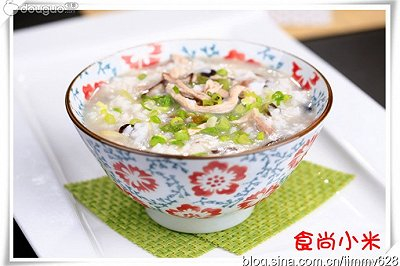 香菇瘦肉粥