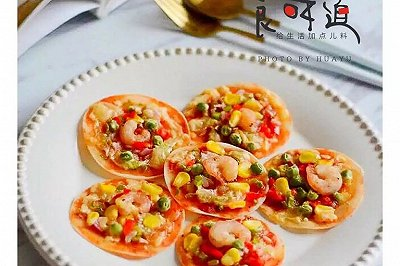 饺子皮版披萨