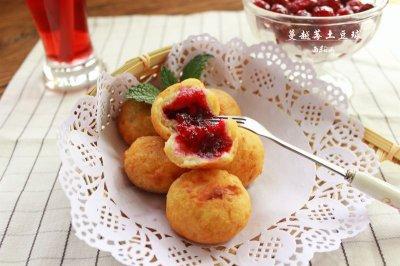 蔓越莓土豆球