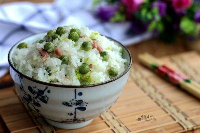 豌豆咸肉焖饭