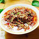 鲜香嫩滑:水煮牛肉