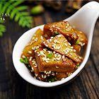 叉烧蜜汁豆腐角