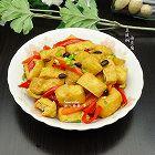 豆豉焖油豆腐