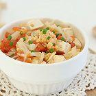 番茄花菜豆腐