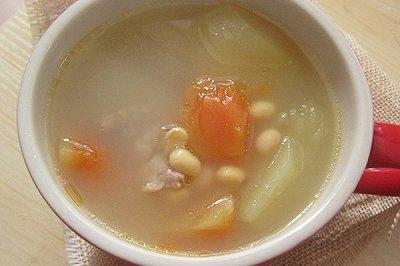 青木瓜黄豆排骨汤
