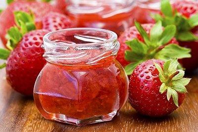 鲜美草莓酱