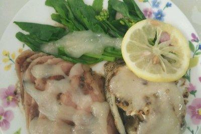 黑椒柠檬鳕鱼