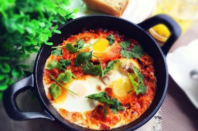 快手早餐:北非蛋