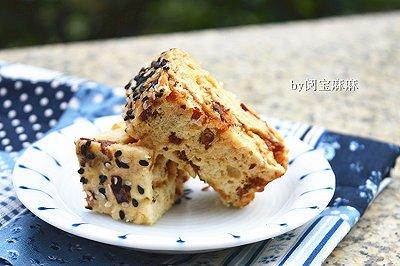 红枣燕麦糕