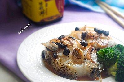 豆豉酱油鳕鱼
