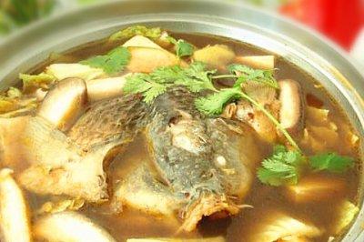 冬季暖身:鱼头火锅