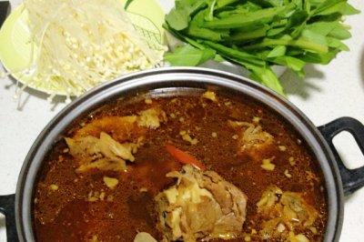 香辣羊羯子涮锅