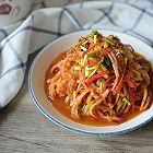 凉拌萝卜丝-开胃小菜