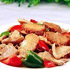 猴头菇炒肚片