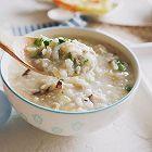 香菇虾皮瘦肉糙米粥