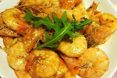 家常快手版:椒盐虾