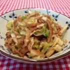 圆白菜素炒饼