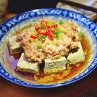 肉末蒸臭豆腐