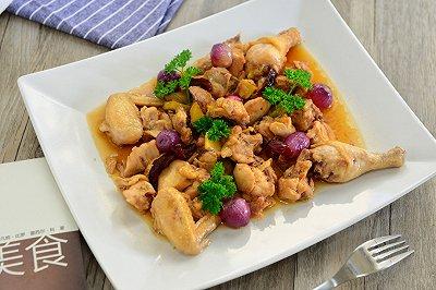 粤菜:红葱头蒸鸡