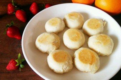 电饭锅版:香酥绿豆饼