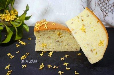 桂花酸奶蛋糕