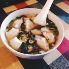 香菇肉馅儿鲜汤馄饨