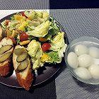 酸黄瓜法棍沙拉