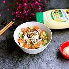 三文鱼黄瓜拌饭