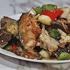 中餐厅复刻张亮大厨的三文鱼头煲