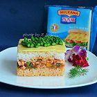 三文鱼米饭三明治