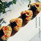 日式三文鱼彩蔬小饭团