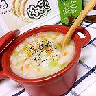 三文鱼莴笋粥