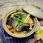 三文鱼皮(骨)扒白菜